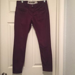 Anthro Daughters of Liberation Ankle Skinny Jeans